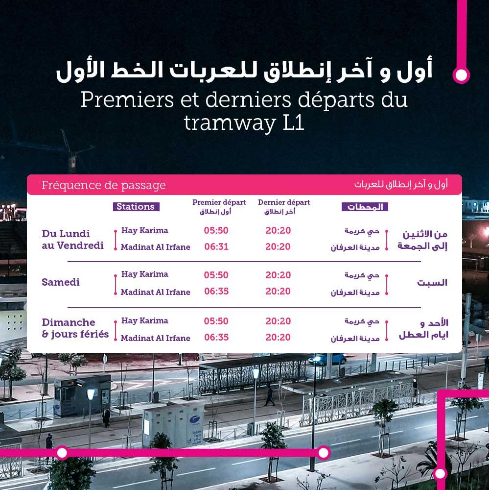 Tramway Rabat Salé L1