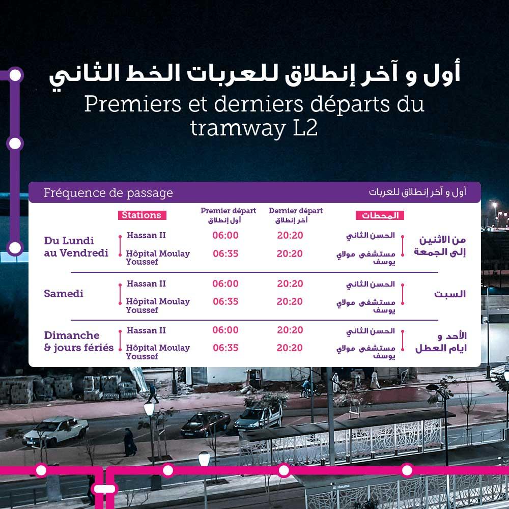 Tramway Rabat Salé L2
