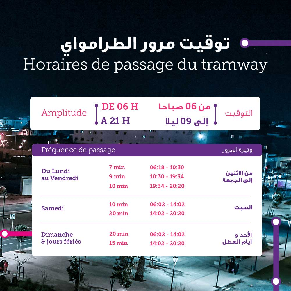 Tramway Rabat Salé